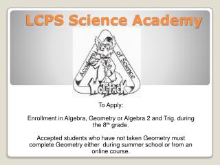 LCPS Science Academy