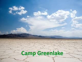 Camp  Greenlake