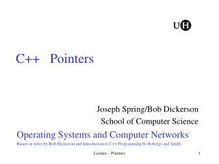 C   Pointers
