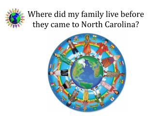 Where did my family live before they came to North Carolina?