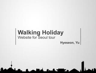 Walking Holiday