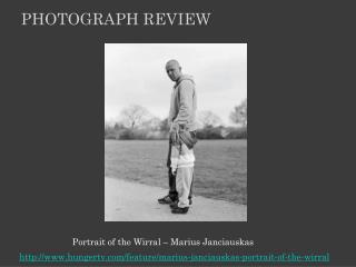 Portrait of  the Wirral  – Marius Janciauskas