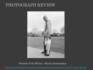 Portrait of  the Wirral  � Marius Janciauskas