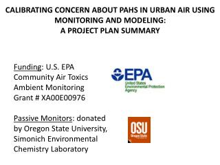 CALIBRATING CONCERN ABOUT PAHS IN URBAN AIR USING MONITORING AND MODELING: