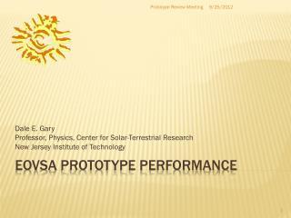 Eovsa  prototype  Performance