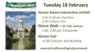 Tuesday 18 February