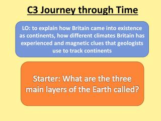 C3 Journey through Time