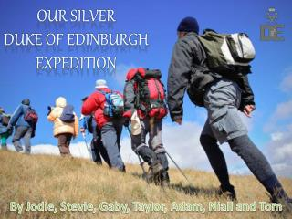 Our silver  Duke of Edinburgh Expedition