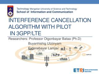 Interference Cancellation Algorithm with Pilot  in 3GPP/LTE