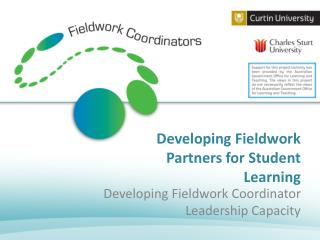 Developing Fieldwork Partners for Student Learning