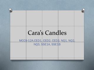 Cara's Candles