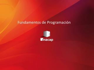 Fundamentos de Programaci�n