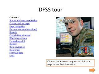 DFSS tour