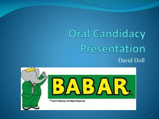 Oral Candidacy Presentation