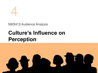 NM3413 Audience  Analysis