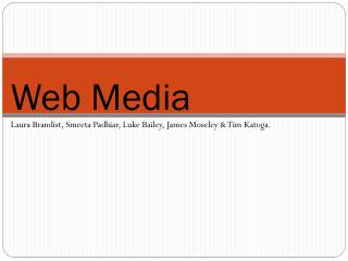 Web Media
