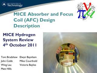 MICE  Absorber and Focus Coil (AFC)  Design Description