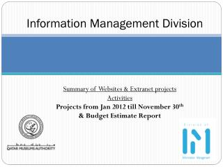 Information Management Division