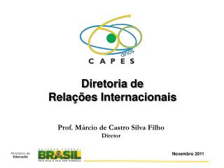 Prof. Márcio de Castro Silva Filho Diretor