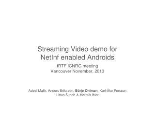 NetInf TV4  Play  service