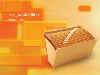 CT_ back office