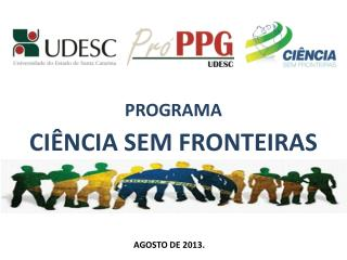 PROGRAMA CI�NCIA SEM FRONTEIRAS