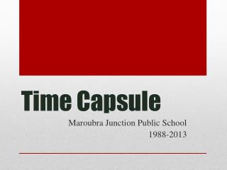 Time Capsule