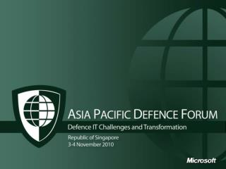 Military Cooperation and Initiatives in the Asia Pacific Region