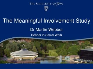 The Meaningful Involvement Study