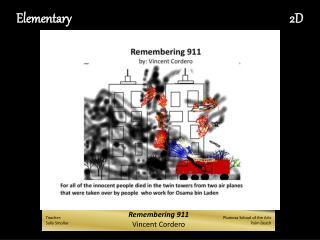 Remembering 911 Vincent Cordero