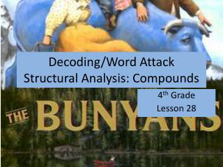 Decoding/Word Attack Structural Analysis : Compounds