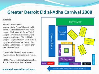 Greater Detroit  Eid  al- Adha  Carnival 2008