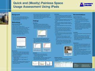 Quick and (Mostly) Painless  Space Usage  Assessment Using iPads
