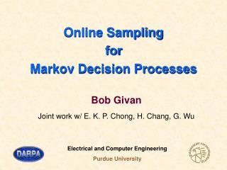 Online Sampling for Markov Decision Processes