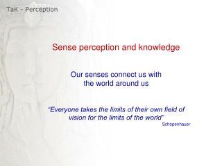 TaK  - Perception