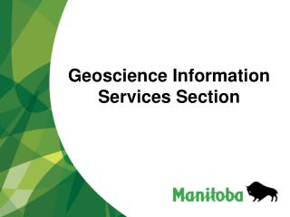 Geoscience Information Services Section