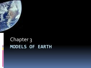 Models of Earth