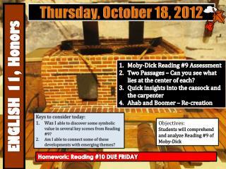 Thursday , October  18,  2012