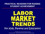 PRACTICAL REASONS FOR RAISING STUDENT ACHIEVEMENT