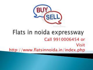 resale flats in noida expressway price 9910006454