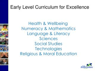 Health & Wellbeing   Numeracy & Mathematics   Language & Literacy   Sciences   Social Studies