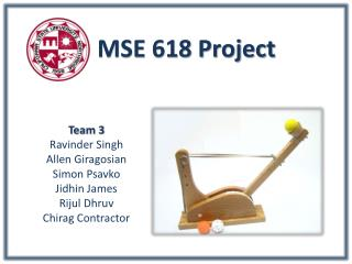 MSE 618 Project