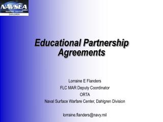 Educational Partnership Agreements