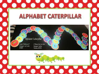 ALPHABET CATERPILLAR