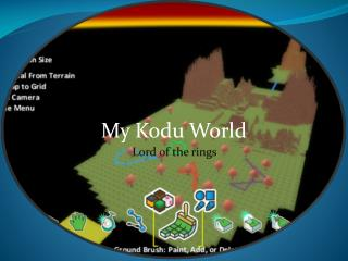 My  Kodu  World