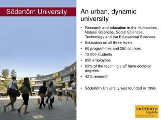 An urban, dynamic university