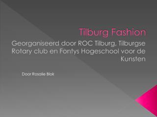 Tilburg Fashion