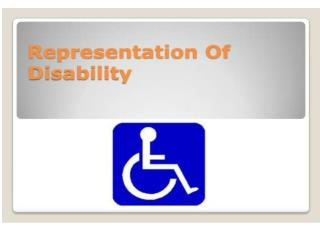 DISABLED PEOPLE Customers not to miss . Stephen Brookes MBE