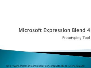 Microsoft Expression Blend 4