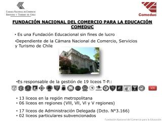 FUNDACI�N NACIONAL DEL COMERCIO PARA LA EDUCACI�N COMEDUC